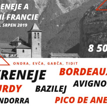 Pyreneje a jižní Francie