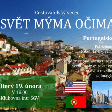 Svět mýma očima – Portugalsko + USA