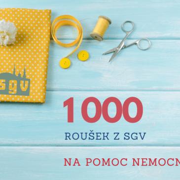 1 000 roušek z SGV