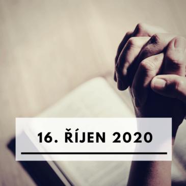 16. říjen 2020