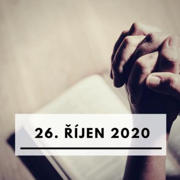 26. říjen 2020
