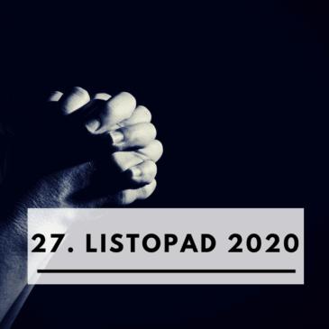27. listopad 2020