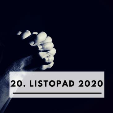20. listopad 2020